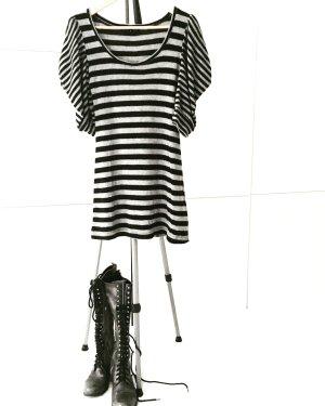 gestreiftes vintage strick kleid