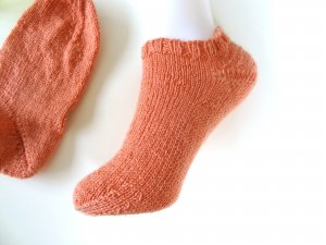 Legwarmers apricot wool
