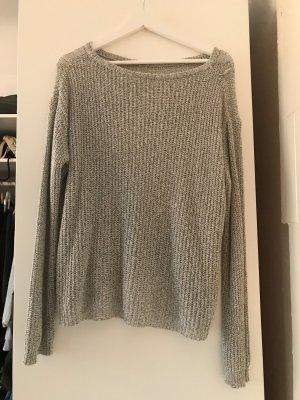 gestrickter lockerer Pullover