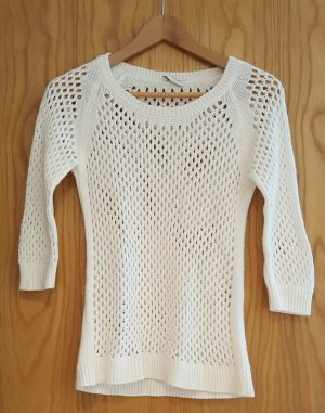Sutherland Short Sleeve Sweater white polyacrylic