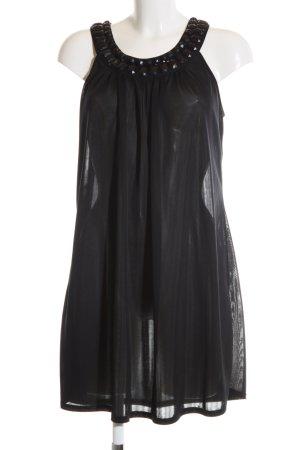 Gestuz A-Linien Kleid schwarz Elegant