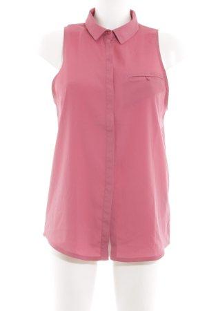 Gestuz ärmellose Bluse pink Casual-Look
