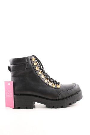 Gestuz Ankle Boots schwarz Street-Fashion-Look