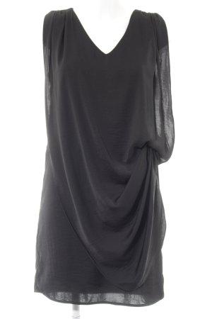 Gestuz Chiffonkleid schwarz Elegant