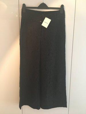 Gestuz Pantalone culotte nero Tessuto misto