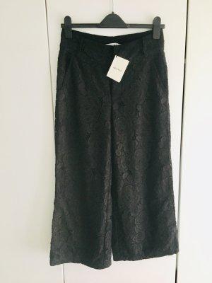Gestuz Culottes black mixture fibre