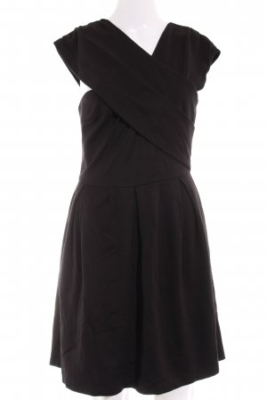 Gestuz Cut-Out-Kleid schwarz Casual-Look