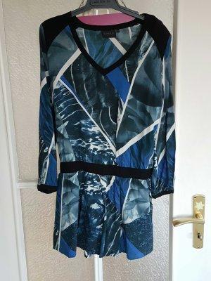 Gestuz Kleid 36 blau-schwarz
