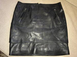 Gestuz Leather Skirt black leather