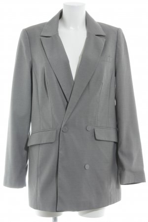 Gestuz Long-Blazer grau Business-Look