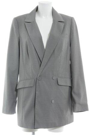 Gestuz Long-Blazer grau Business-Look