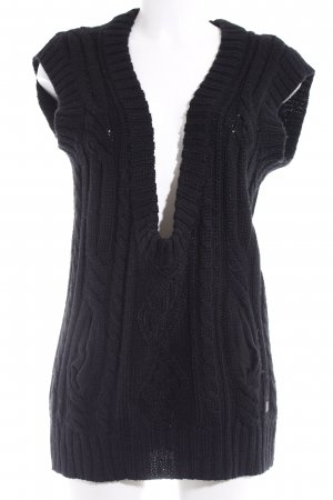 Gestuz Long Cardigan black casual look