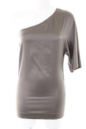 Gestuz One Shoulder Shirt silver-colored elegant
