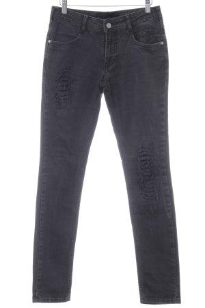 Gestuz Skinny Jeans schwarz Business-Look