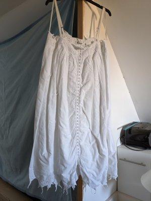 Gestuz Pinafore dress white