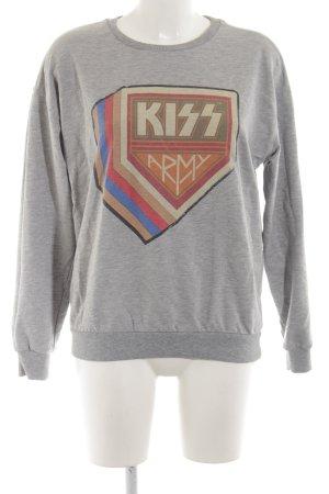 Gestuz Sweatshirt Motivdruck Casual-Look