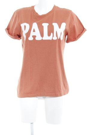 Gestuz T-Shirt dunkelorange Casual-Look