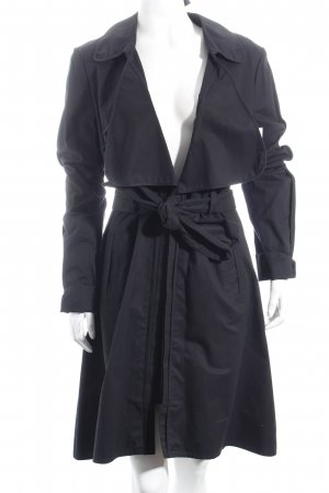 Gestuz Trenchcoat dunkelblau Business-Look