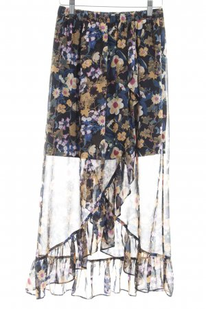 Gestuz Flounce Skirt flower pattern romantic style