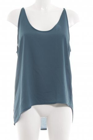 Gestuz Flounce Top blue casual look