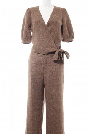 Gestuz Woven Twin Set brown check pattern casual look