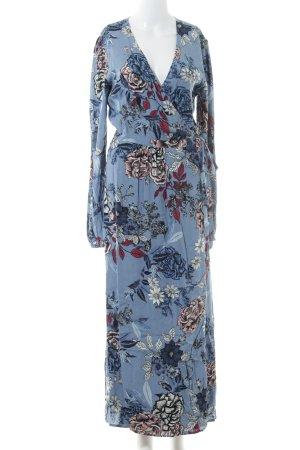 Gestuz Wickelkleid florales Muster 70ies-Stil