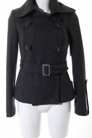 Gestuz Wolljacke grau Casual-Look