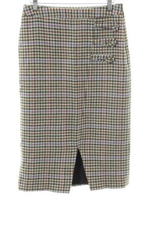 Gestuz Wool Skirt houndstooth pattern elegant