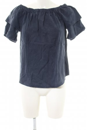 get it on Carmen Blouse blue business style