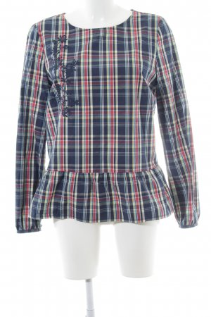 get it on Langarm-Bluse Karomuster Casual-Look
