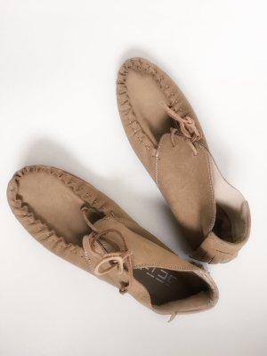 Get-u Moccasins brown leather