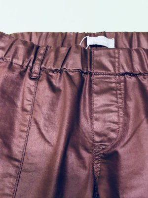 Gewachste Jeans - Friendtex - weinrot - Gr. 40