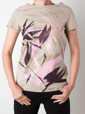 Gf. Ferre T-shirt mit Blätterprint