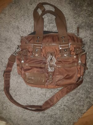 GG&L Handtasche mit Leder