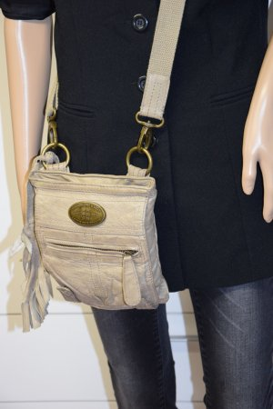 George Gina & Lucy Crossbody bag beige leather