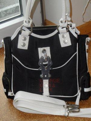 """GG&L Tasche """" FRIDA """", schwarz -weiß"""