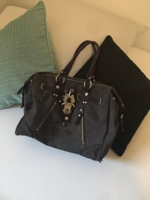 GG&L Tasche grau lila