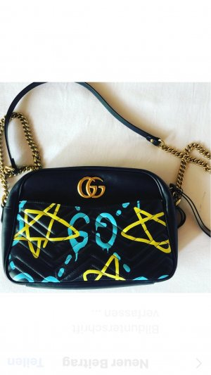 GG Marmont GucciGhost shoulder bag - LimitedEdition - Graffiti