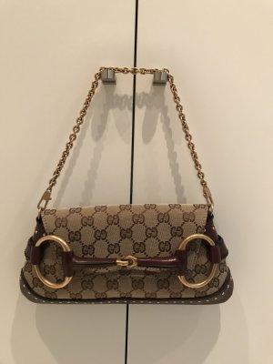 Gucci Borsa a tracolla beige-bordeaux