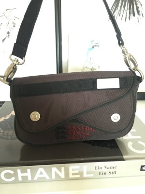 GGL George Gina Lucy Handtasche Clutch Come Together braun