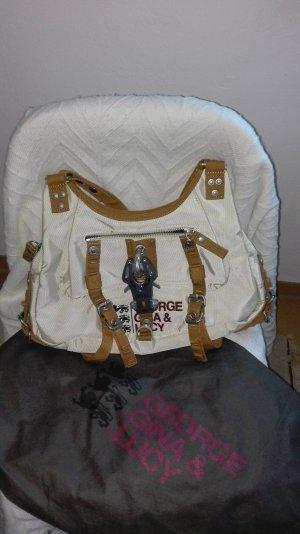GGL Handtasche beige-braun