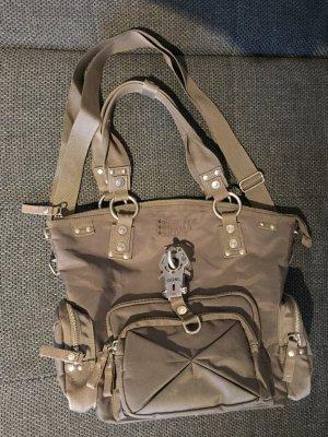GGL Handtasche in grün-grau