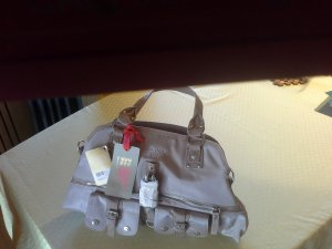 038b3e6a24aa5 GGL neue große Rosafarbene leicht glänzende Handtasche