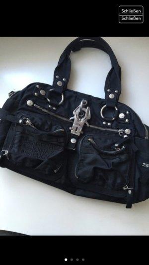 GGL Tasche Schwarz/Silber zu verkaufen