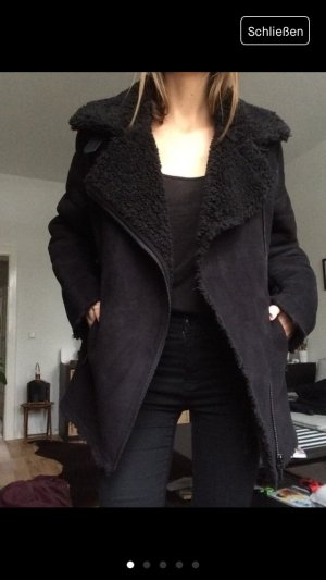 Giacomo the jacket asos shearling jacke mantel