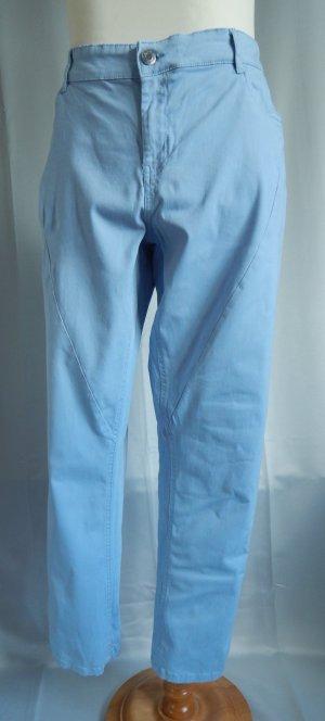 Giada, große Größen, coloured Jeans,Schräge Ziernaht,hellblau,Gr. 50