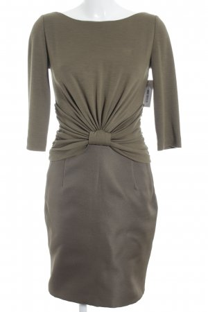 Giambattista valli Longsleeve Dress olive green elegant
