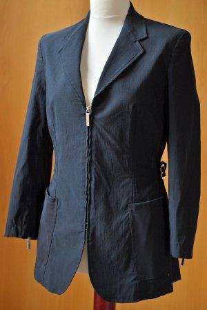 GIANFRANCO FERRE 36/38 Jacke Windbreaker Übergangsjacke Blazer schwarz