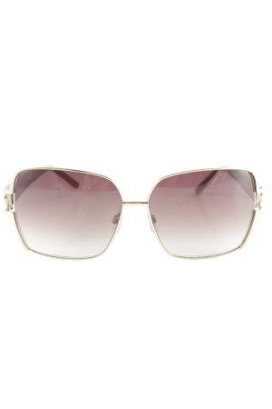 Gianfranco Ferré eckige Sonnenbrille mehrfarbig Glanz-Optik