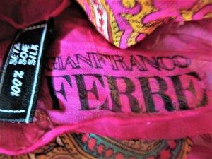 Gianfranco Ferré Zijden doek veelkleurig Zijde